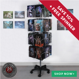 Anne Stokes Canvas Plaques Spinner Deal
