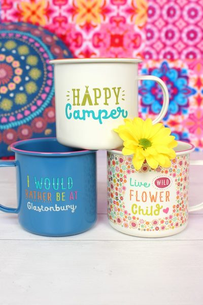 Wholesale Festival Enamel Mugs