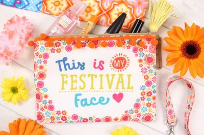 Festival Face Wholesale Makeup Pouch