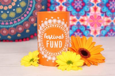 Wholesale Festival Fund Money Tin