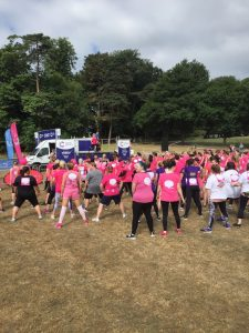 Group workout at Pretty Muddy