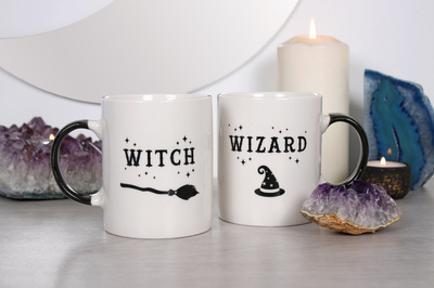 Wholesale Witch and Wizard Mug Set