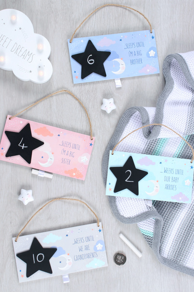 Wholesale Baby Countdown Plaques
