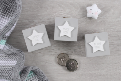Wholesale Baby Firsts Keepsake Boxes