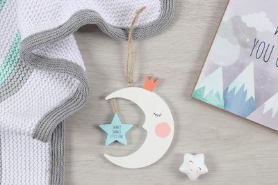 Wholesale Moon Hanging Nursery Decoration