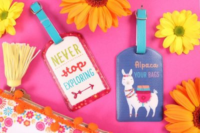 Wholesale contemporary luggage tags