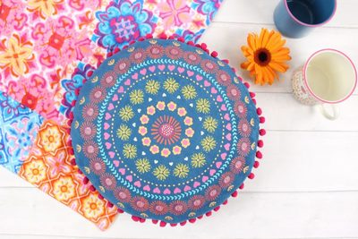 Wholesale Round Patterned Cushion