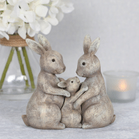Wholesale Rabbit Family Ornament