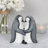 Wholesale Penguin Couple Ornament