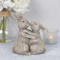 Wholesale Rabbit Couple Ornament