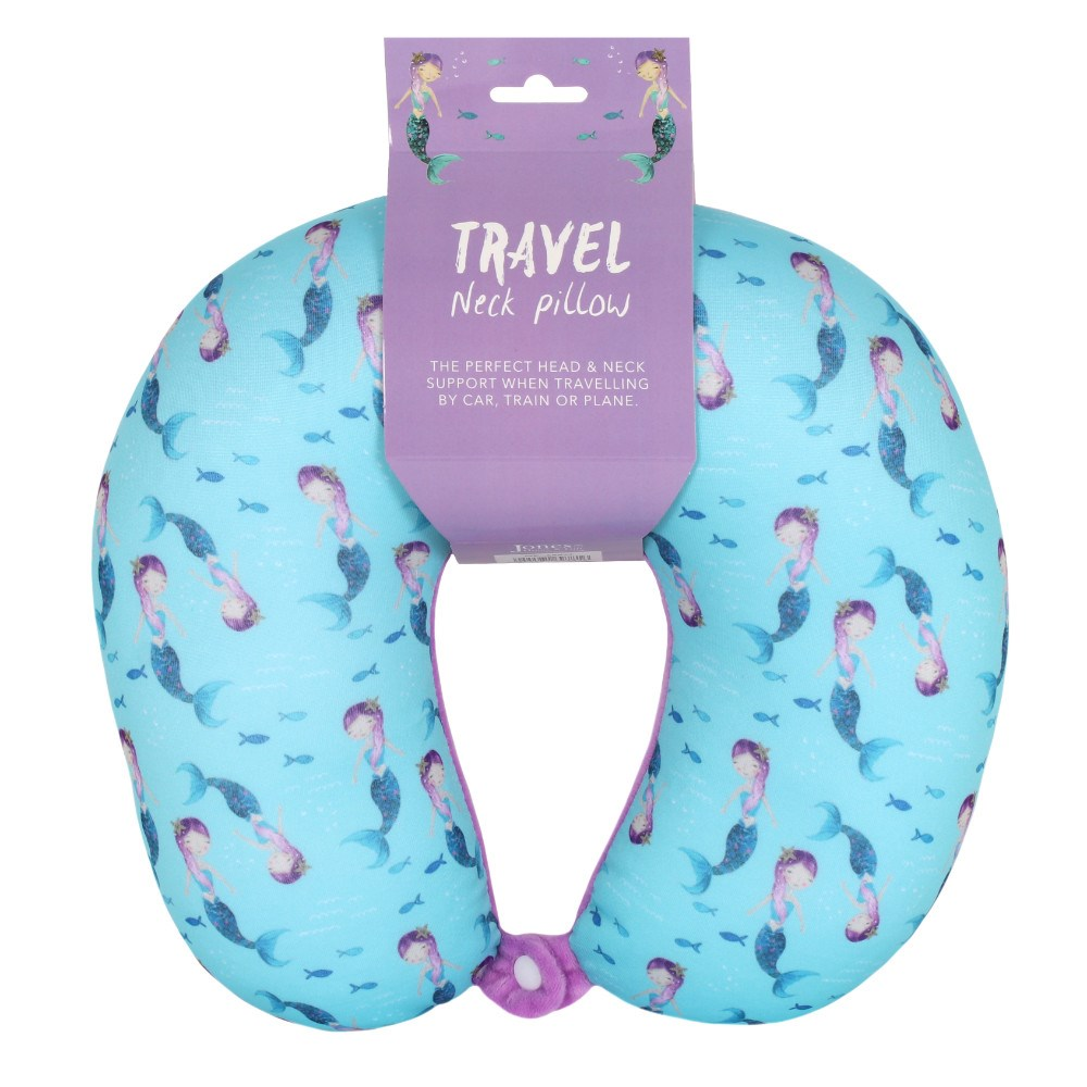 Mermaid Tail Travel Neck Pillow