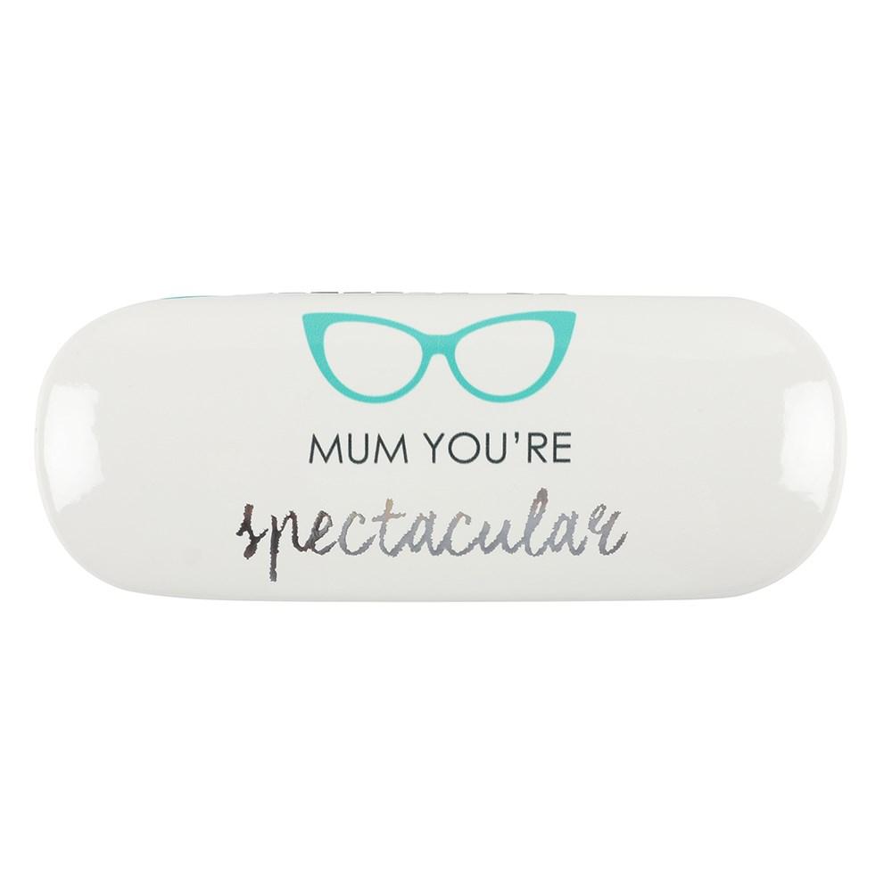 Botanical Mum Glasses Case